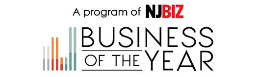 NJBIZ Business of the Year award banner
